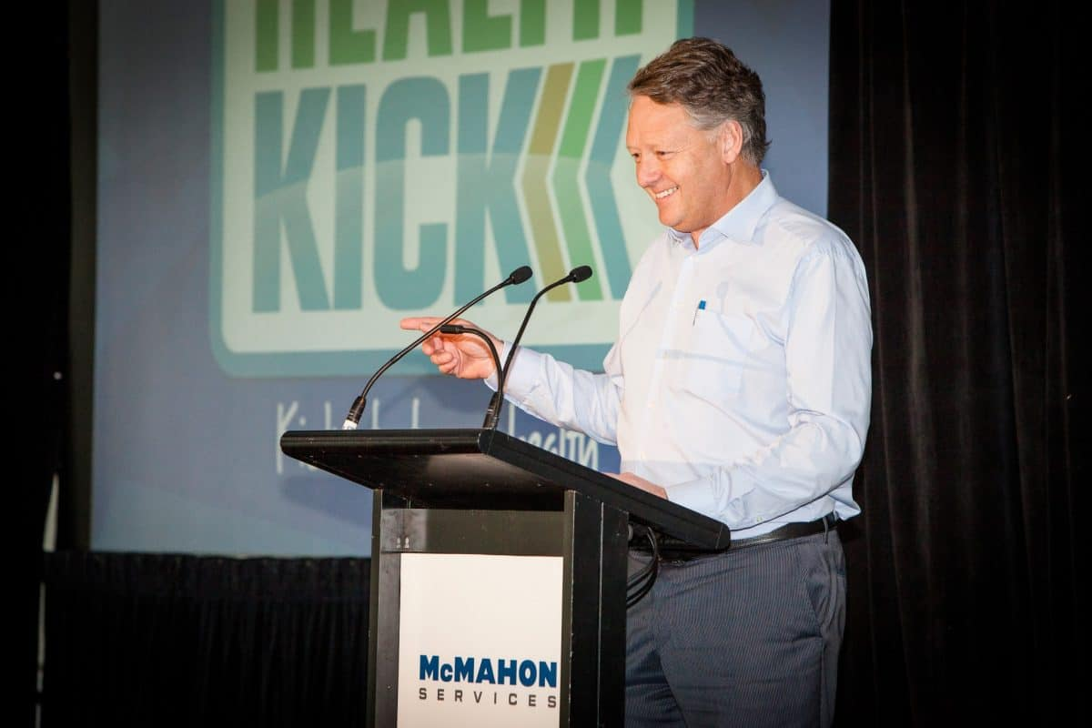Health-Kick launch
