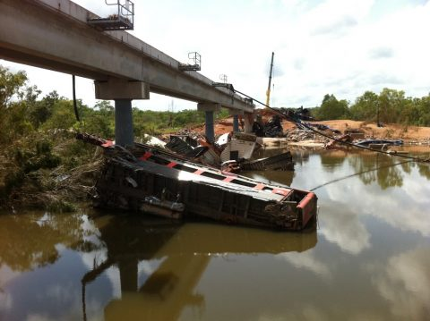 Edith river derailment