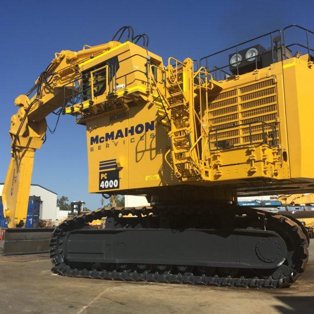 World S Largest Demolition Machine Built Mcmahon Services