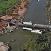 Edith River Freight Train Derailment