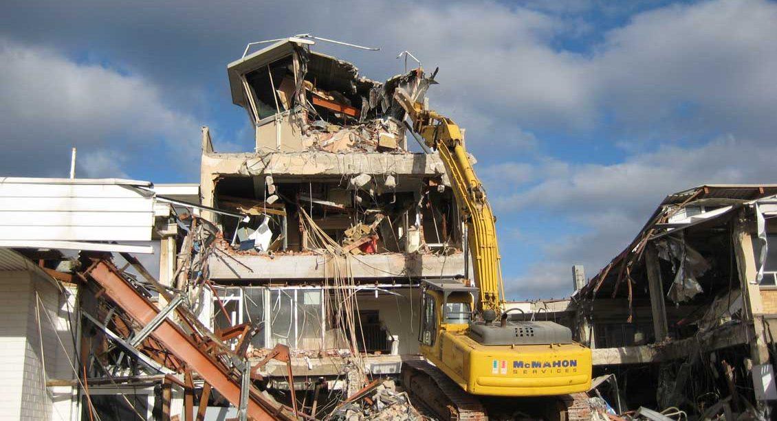 Airport Demolition Mcmahon Services