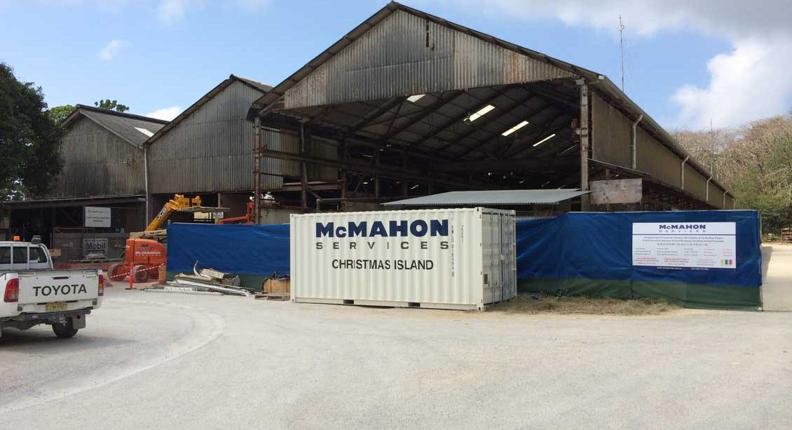 Christmas Island Asbestos Removal & Reinstatement