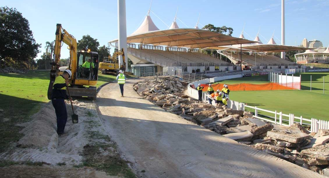 The Adelaide Oval redevelopment