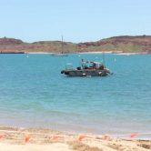 Dampier waste water pipe removal
