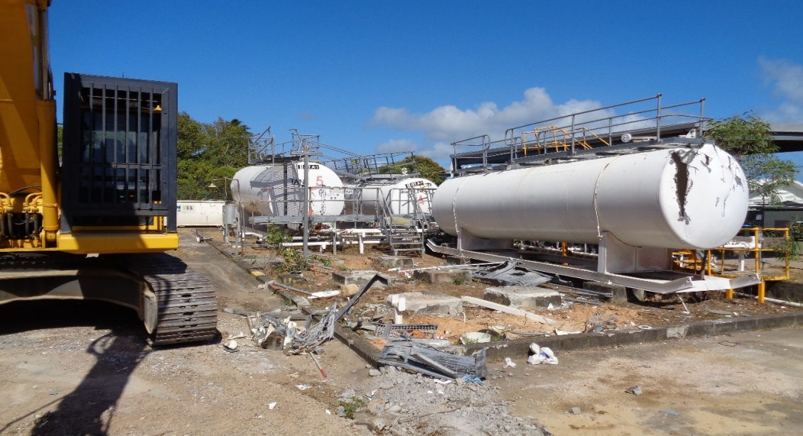 McMahon Horn Island AST Airport Aboveground Storage Tank Removal