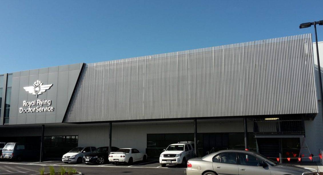 Royal Flying Doctors Service roofing and cladding
