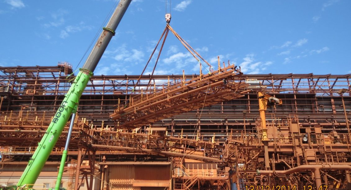 Decommissioning North Yard for BHP