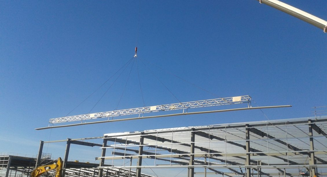 ALDI Distribution Centre roof installation