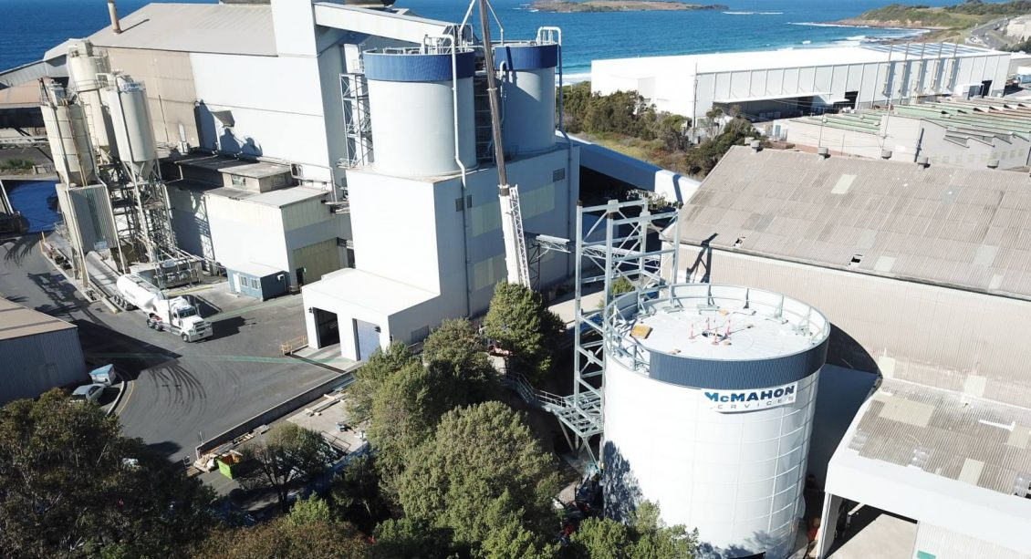Steel silo design and construction at Port Kembla