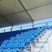 Grandstand seating construction for the Australian Motor Cycle Grand Prix
