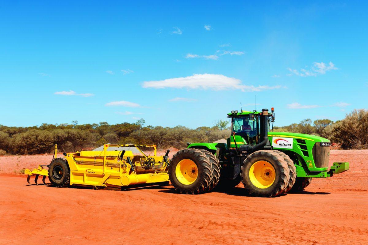 Tractor - Scraper System (1)
