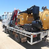 McMahon remote access hydro excavation unit