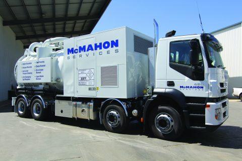 McMahon Industrial vacuum recovery unit