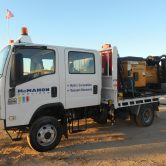 McMahon Remote access hydro-excavation unit
