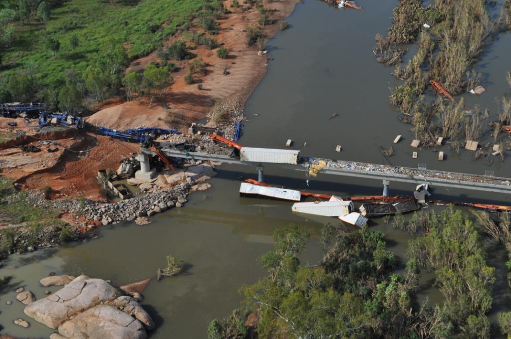 Edith River Train Derailment (2)