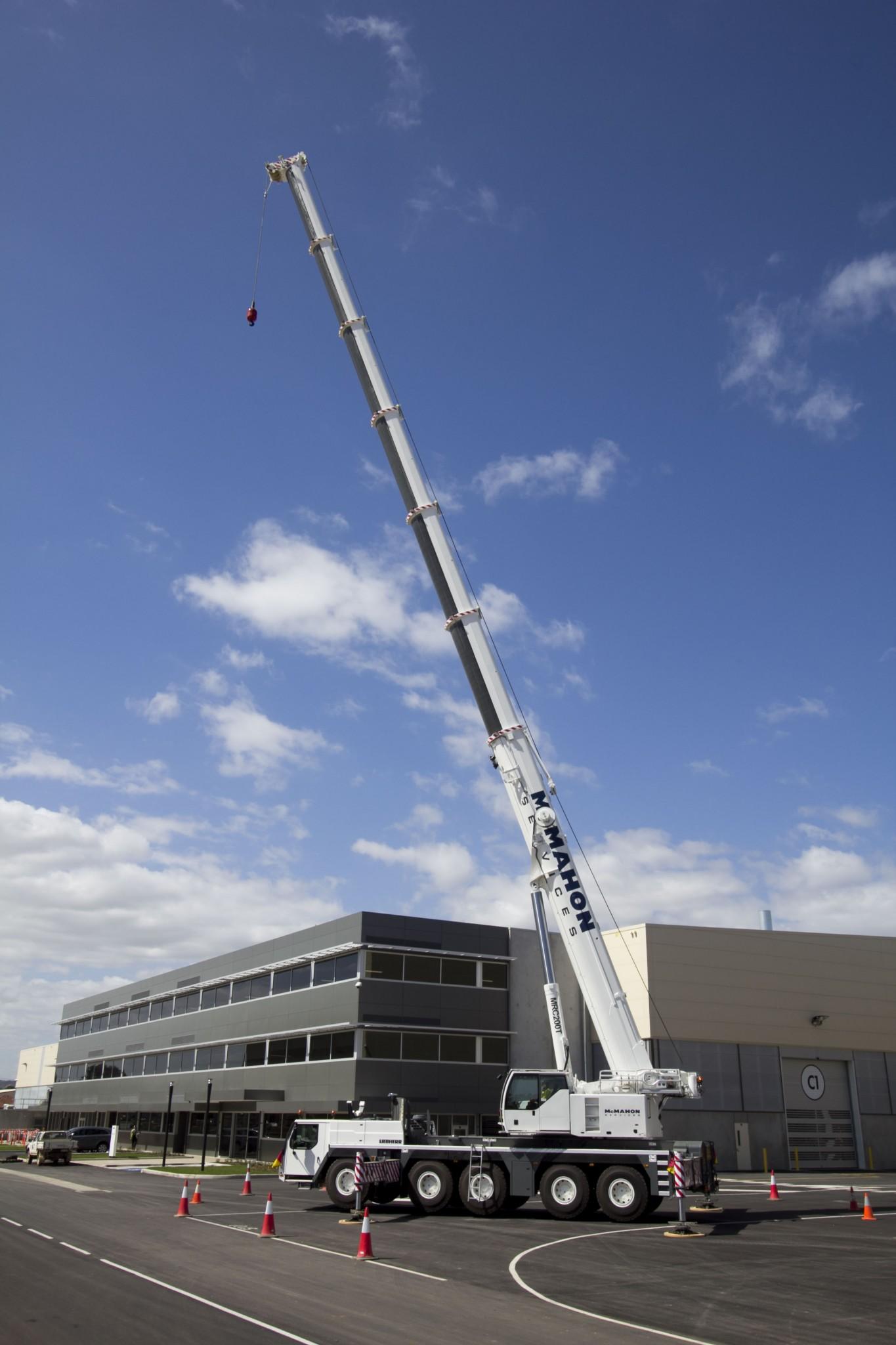 Crane & Rigging Services | McMahon Services