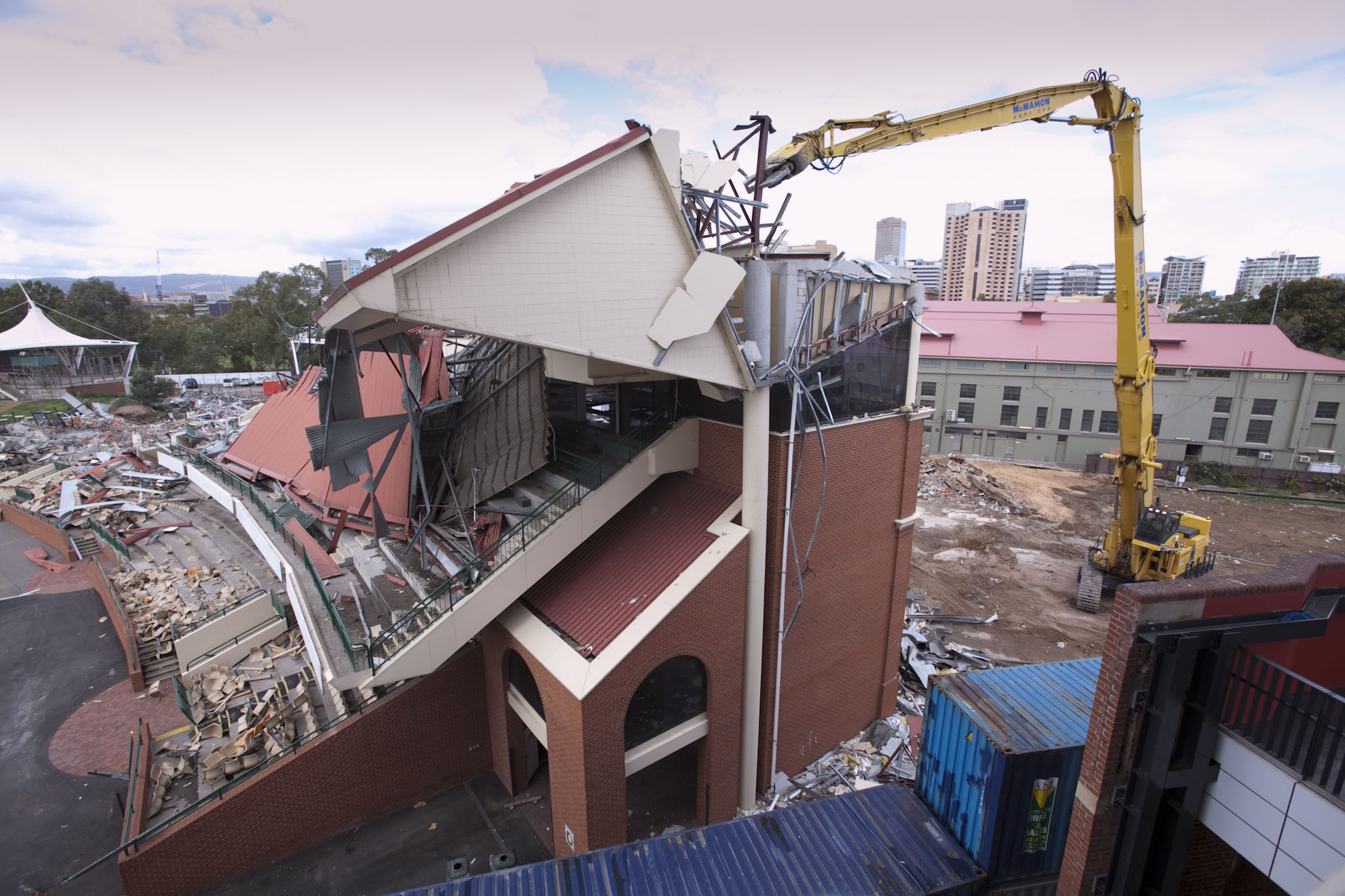 McMahon Demolition Decommissioning Adelaide Oval