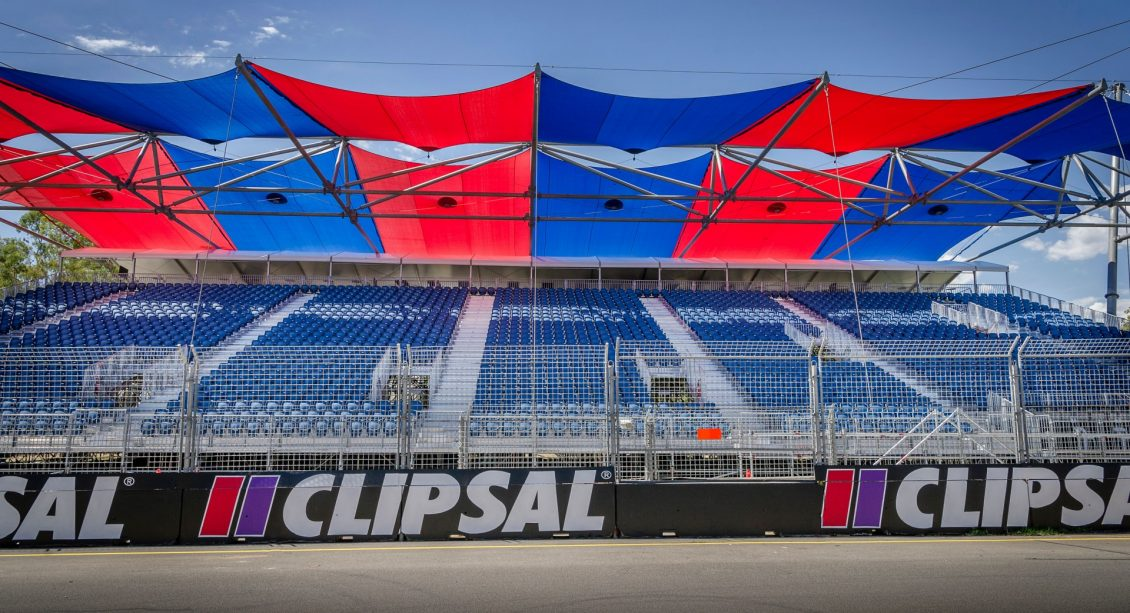 Clipsal 500 Temporary Grandstands