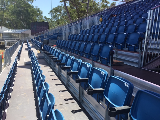 Elite Seating and cup holders